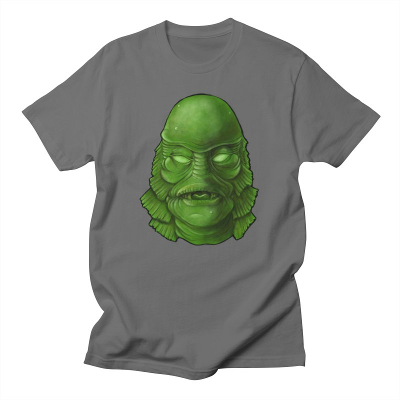 creature feature Men's T-Shirt by the twisted world of godriguezart