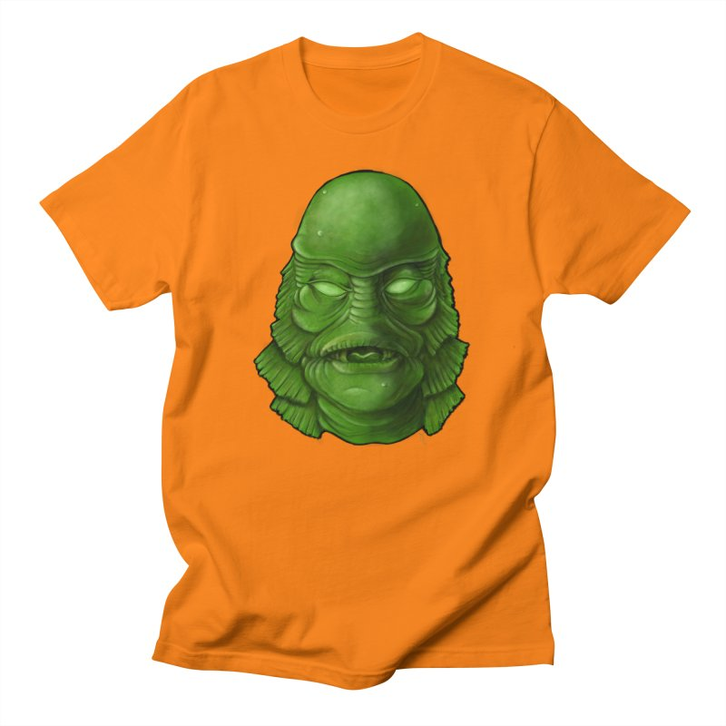 creature feature Men's Regular T-Shirt by the twisted world of godriguezart