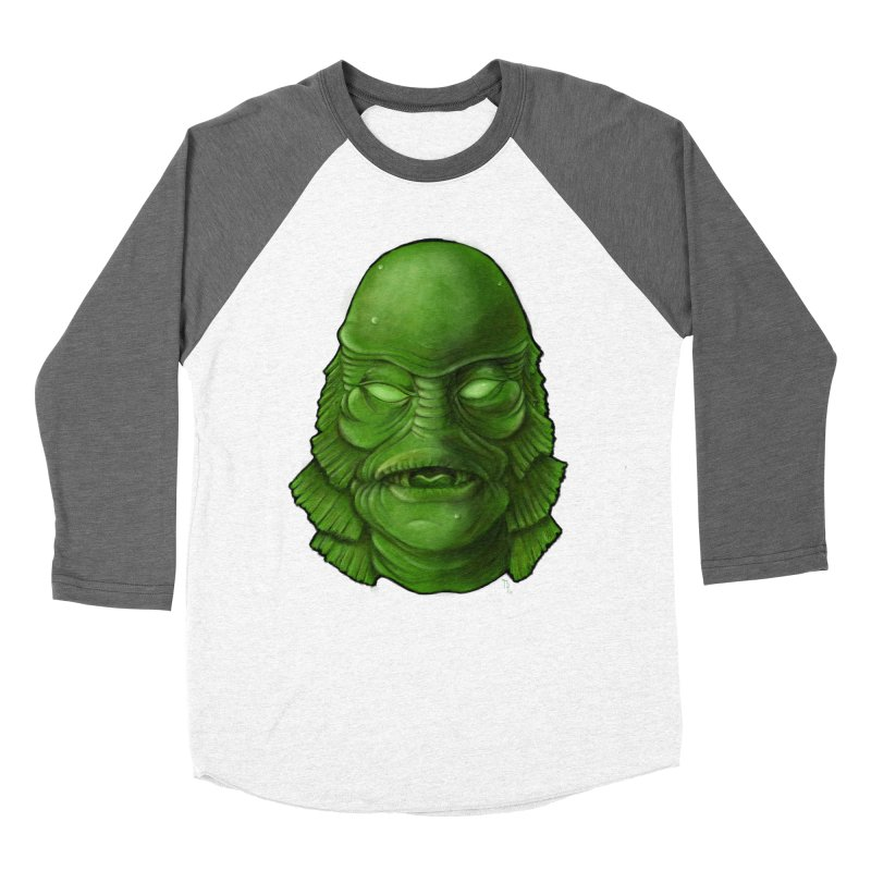 creature feature Women's Longsleeve T-Shirt by the twisted world of godriguezart