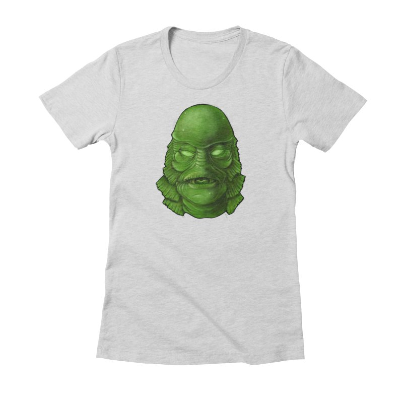creature feature Women's T-Shirt by the twisted world of godriguezart