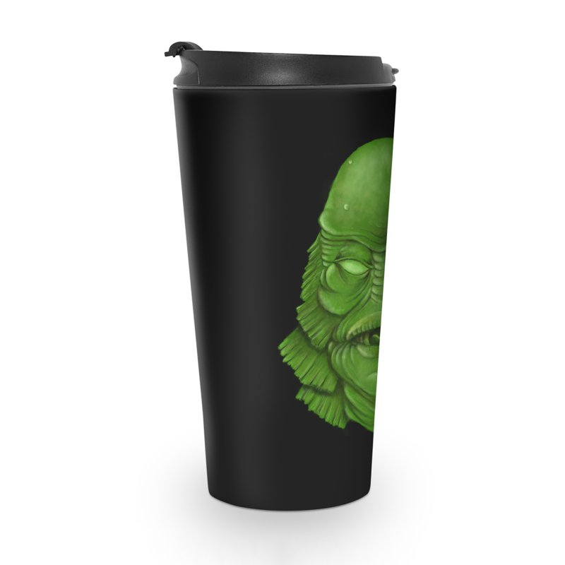 creature feature Accessories Travel Mug by the twisted world of godriguezart