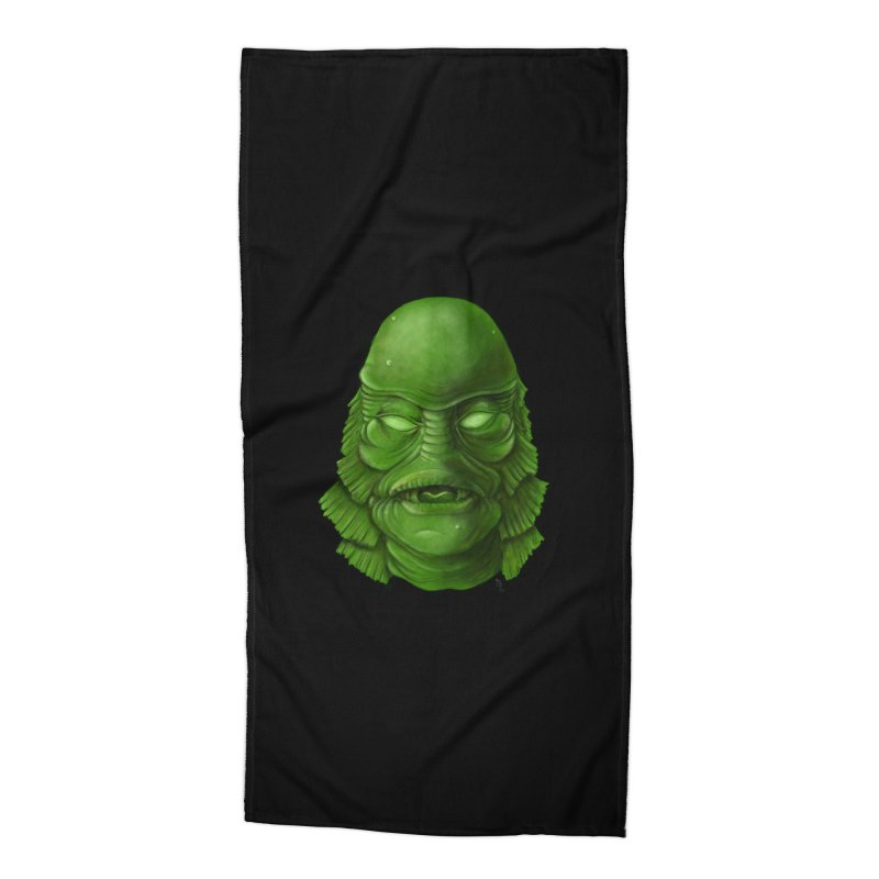 creature feature Accessories Beach Towel by the twisted world of godriguezart