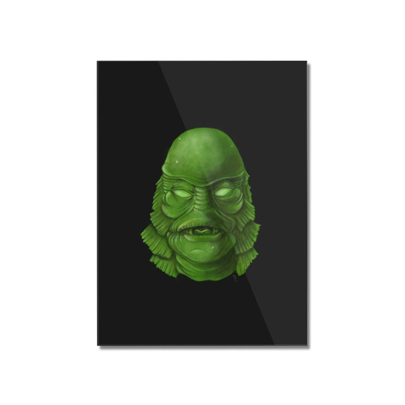 creature feature Home Mounted Acrylic Print by the twisted world of godriguezart