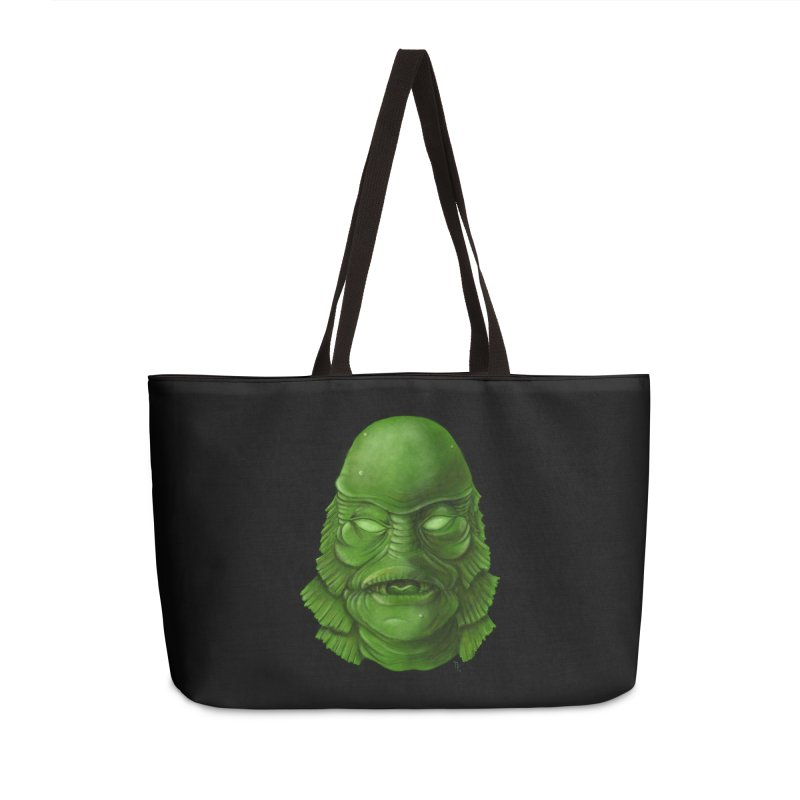 creature feature Accessories Weekender Bag Bag by the twisted world of godriguezart