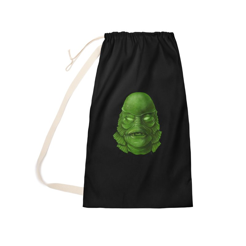 creature feature Accessories Laundry Bag Bag by the twisted world of godriguezart