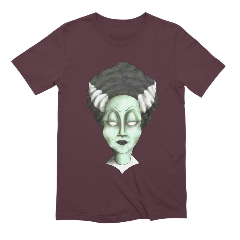 the bride Men's Extra Soft T-Shirt by the twisted world of godriguezart