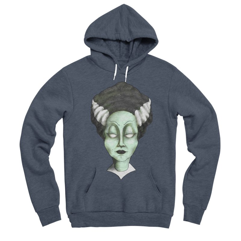 the bride Men's Sponge Fleece Pullover Hoody by the twisted world of godriguezart