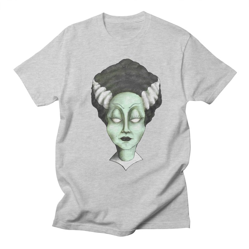 the bride Men's Regular T-Shirt by the twisted world of godriguezart