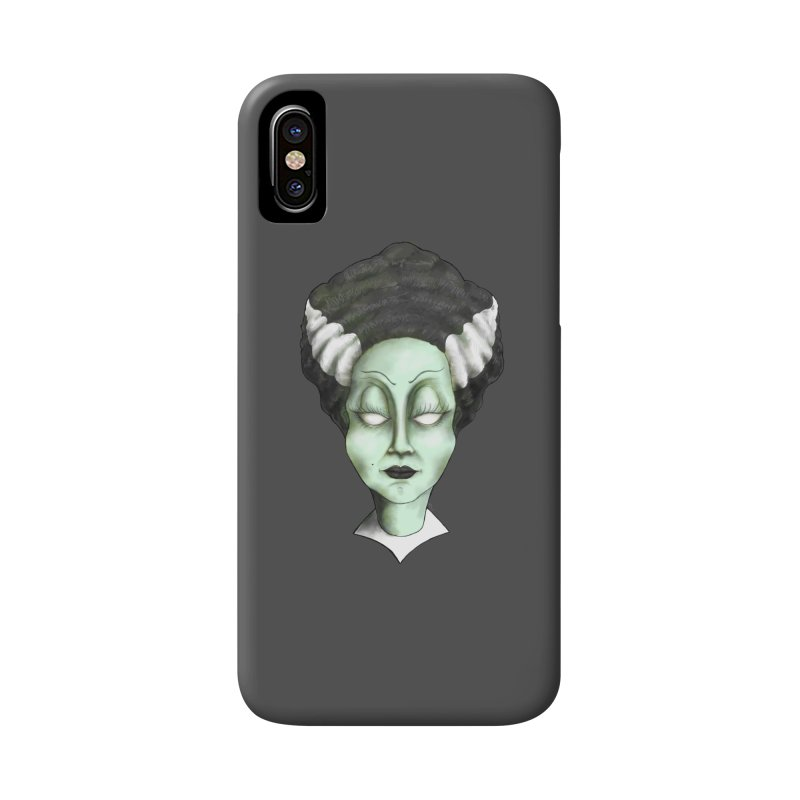the bride Accessories Phone Case by the twisted world of godriguezart