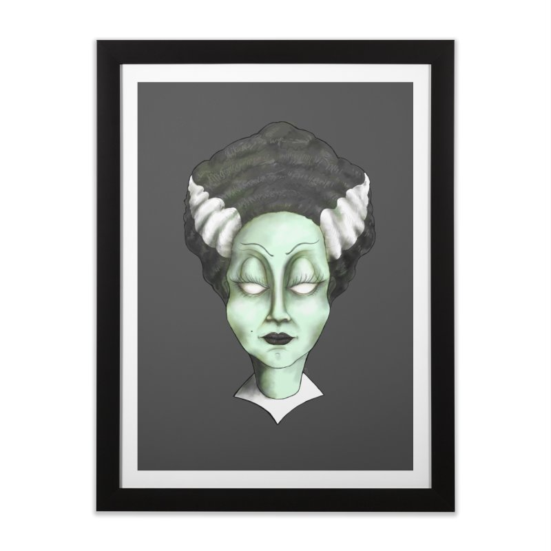 the bride Home Framed Fine Art Print by the twisted world of godriguezart