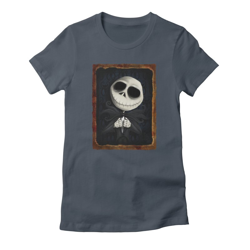 i am the pumpkin king! Women's T-Shirt by the twisted world of godriguezart