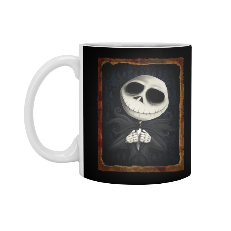 i am the pumpkin king! Accessories Mug by the twisted world of godriguezart