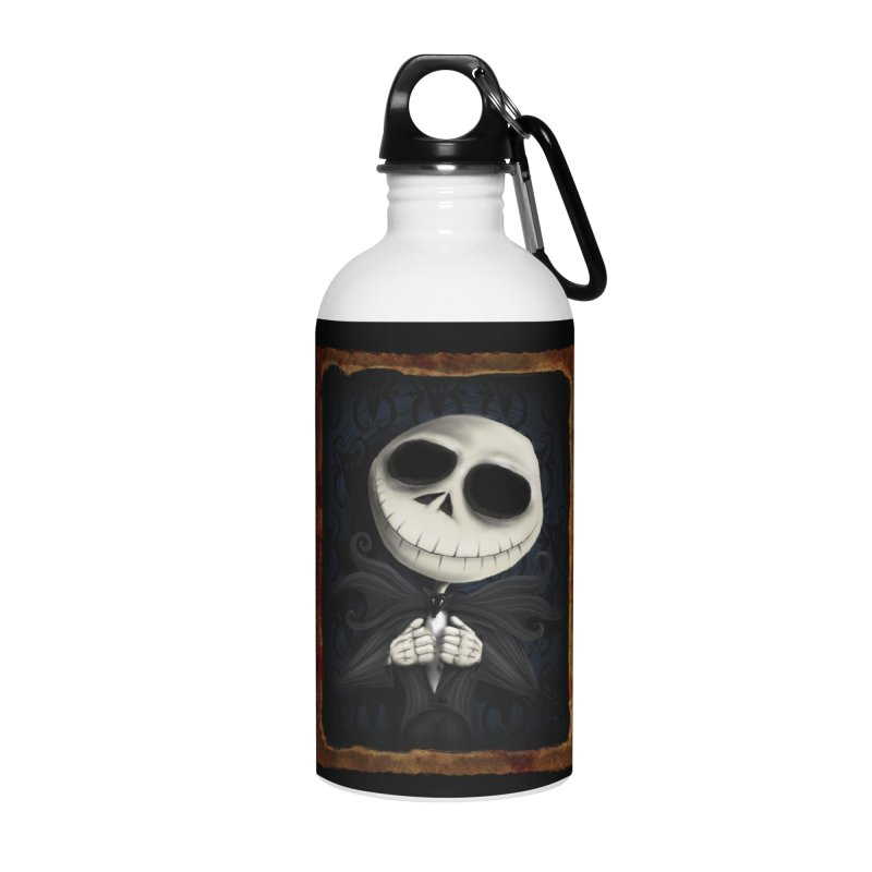 i am the pumpkin king! Accessories Water Bottle by the twisted world of godriguezart