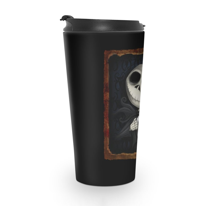 i am the pumpkin king! Accessories Travel Mug by the twisted world of godriguezart
