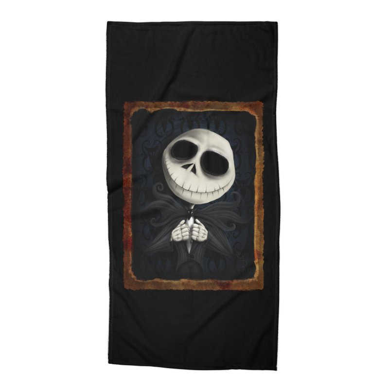 i am the pumpkin king! Accessories Beach Towel by the twisted world of godriguezart
