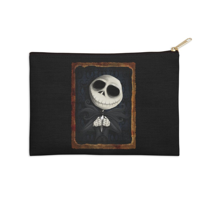 i am the pumpkin king! Accessories Zip Pouch by the twisted world of godriguezart