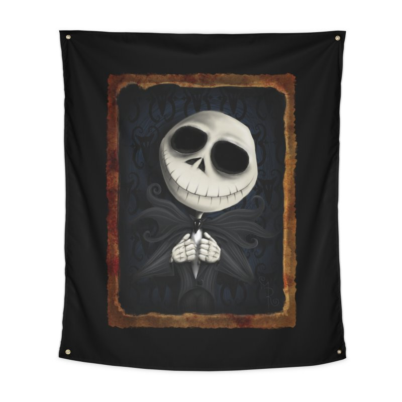 i am the pumpkin king! Home Tapestry by the twisted world of godriguezart
