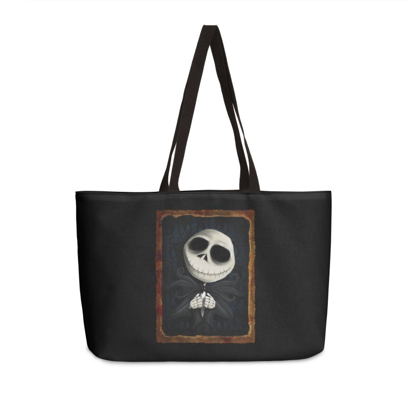 i am the pumpkin king! Accessories Weekender Bag Bag by the twisted world of godriguezart