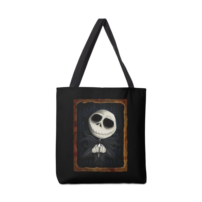 i am the pumpkin king! Accessories Tote Bag Bag by the twisted world of godriguezart
