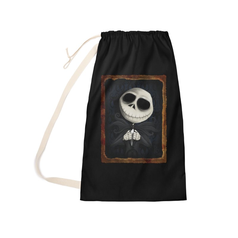 i am the pumpkin king! Accessories Laundry Bag Bag by the twisted world of godriguezart