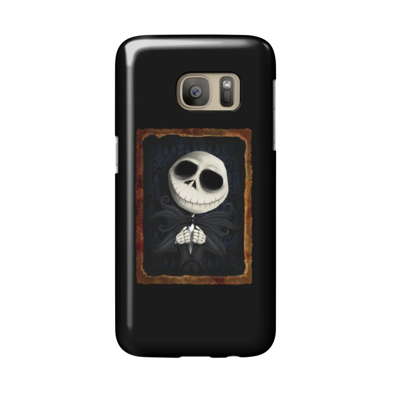 i am the pumpkin king! Accessories Phone Case by the twisted world of godriguezart