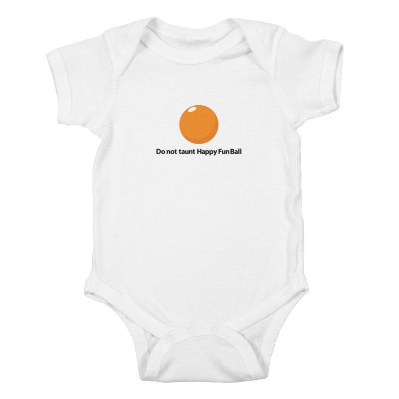do not taunt - lights Kids Baby Bodysuit by the twisted world of godriguezart