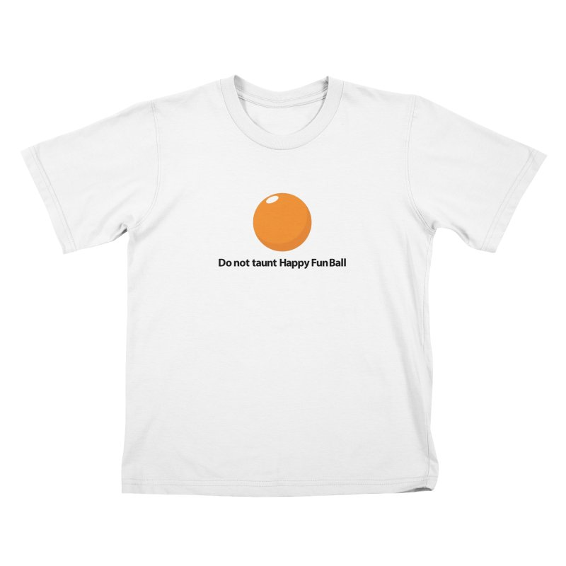 do not taunt - lights Kids T-Shirt by the twisted world of godriguezart