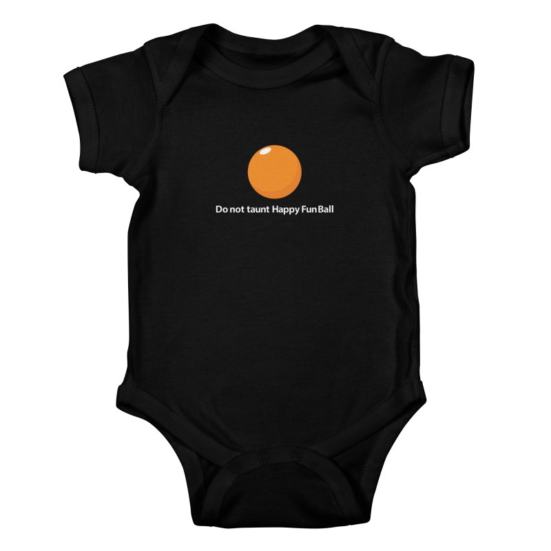 do not taunt - darks Kids Baby Bodysuit by the twisted world of godriguezart