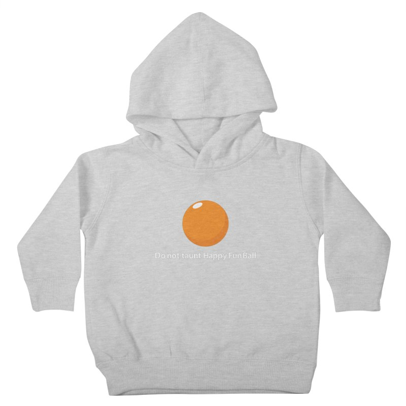 do not taunt - darks Kids Toddler Pullover Hoody by the twisted world of godriguezart