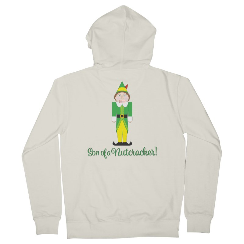 son of a nutcracker! Men's French Terry Zip-Up Hoody by the twisted world of godriguezart