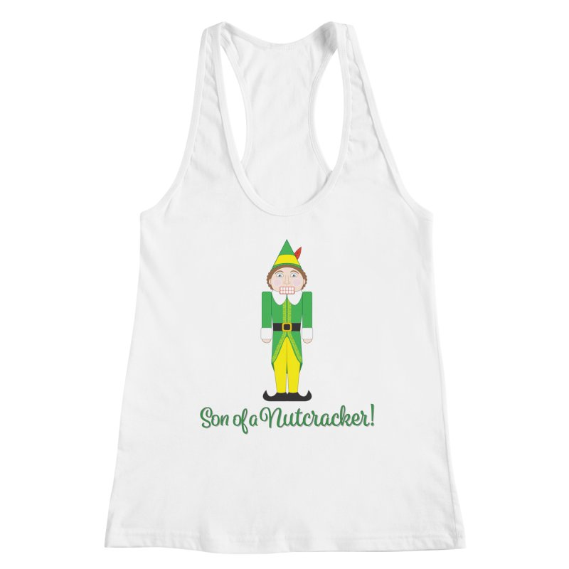 son of a nutcracker! Women's Racerback Tank by the twisted world of godriguezart