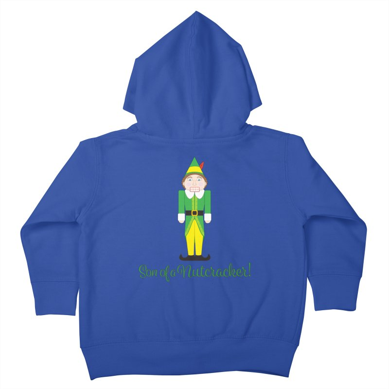 son of a nutcracker! Kids Toddler Zip-Up Hoody by the twisted world of godriguezart