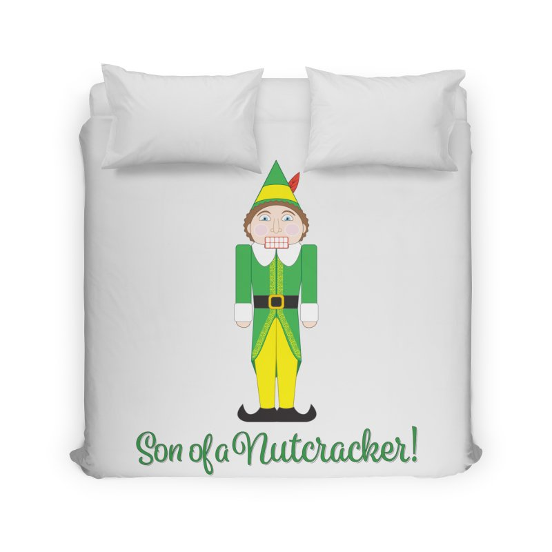 son of a nutcracker! Home Duvet by the twisted world of godriguezart