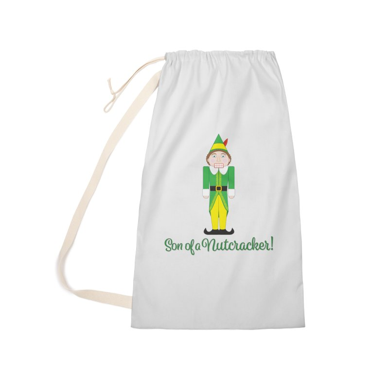son of a nutcracker! Accessories Laundry Bag Bag by the twisted world of godriguezart