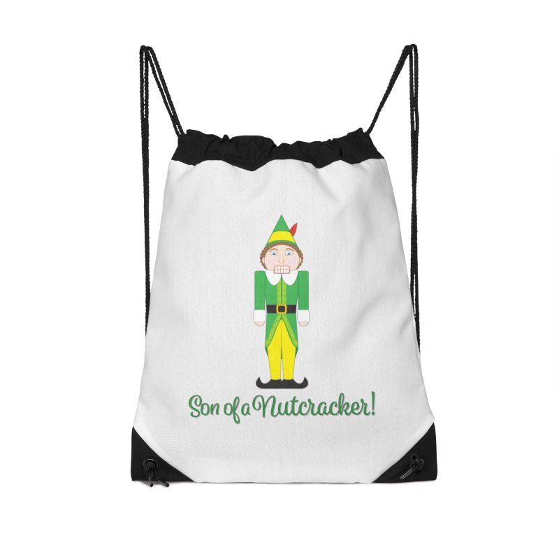 son of a nutcracker! Accessories Drawstring Bag Bag by the twisted world of godriguezart