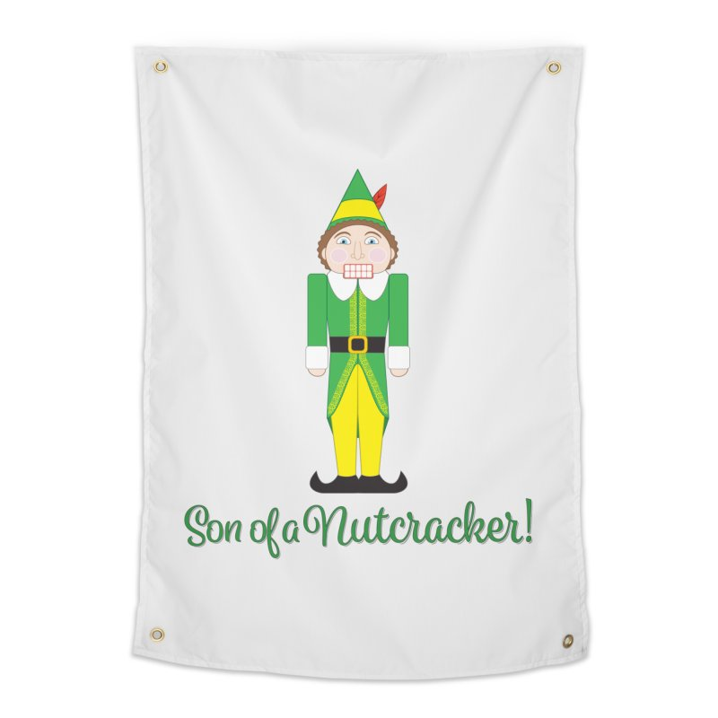 son of a nutcracker! Home Tapestry by the twisted world of godriguezart