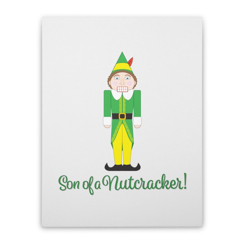 son of a nutcracker! Home Stretched Canvas by the twisted world of godriguezart