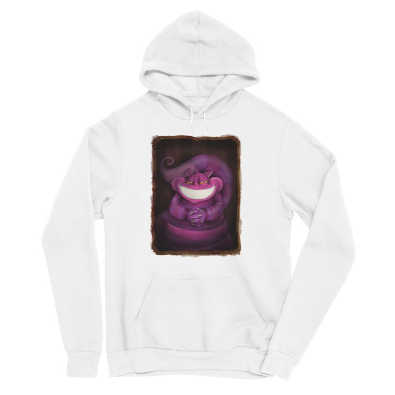 smile like you mean it Women's Sponge Fleece Pullover Hoody by the twisted world of godriguezart