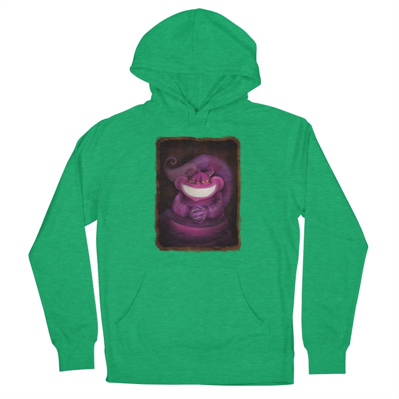 smile like you mean it Women's French Terry Pullover Hoody by the twisted world of godriguezart