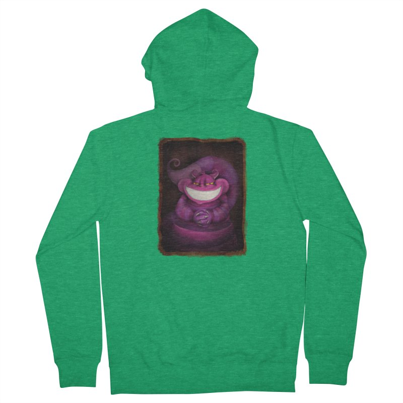 smile like you mean it Women's French Terry Zip-Up Hoody by the twisted world of godriguezart