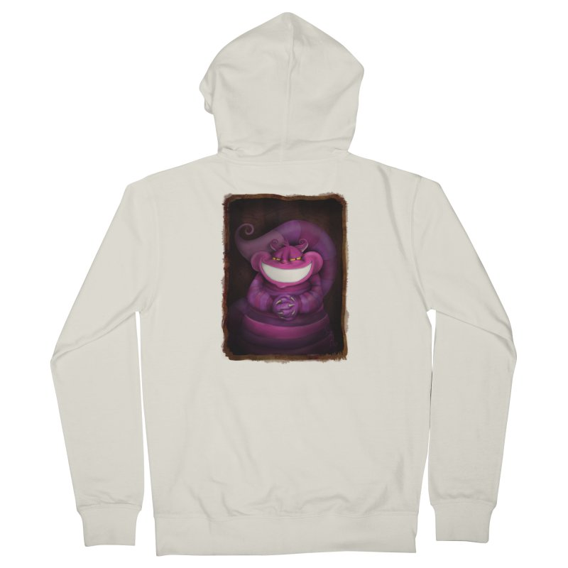 smile like you mean it Men's French Terry Zip-Up Hoody by the twisted world of godriguezart