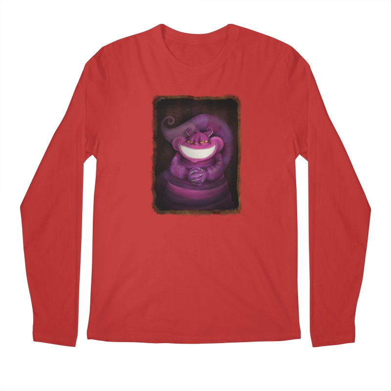 smile like you mean it Men's Regular Longsleeve T-Shirt by the twisted world of godriguezart
