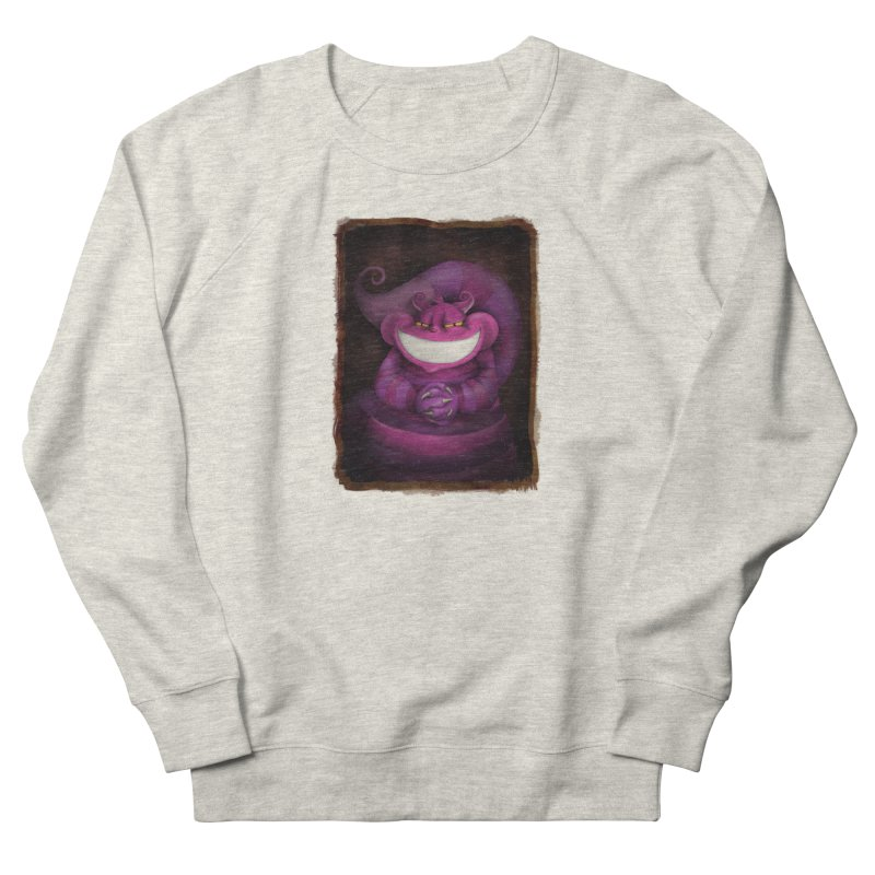 smile like you mean it Women's French Terry Sweatshirt by the twisted world of godriguezart