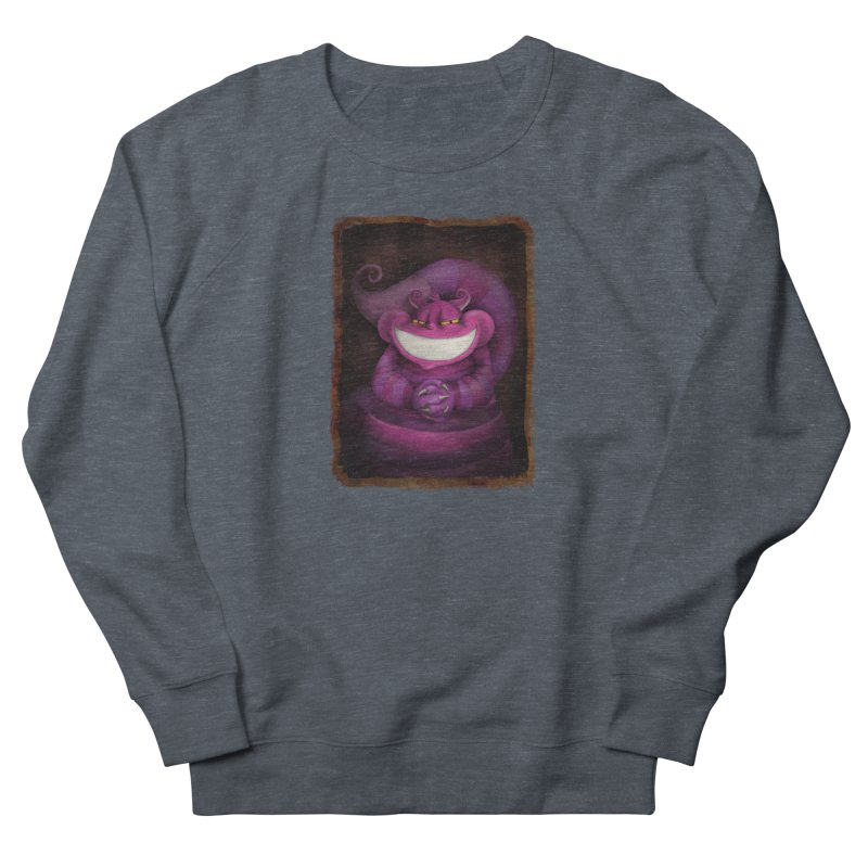 smile like you mean it Men's French Terry Sweatshirt by the twisted world of godriguezart