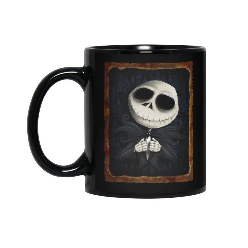 i am the pumpkin king! Accessories Standard Mug by the twisted world of godriguezart