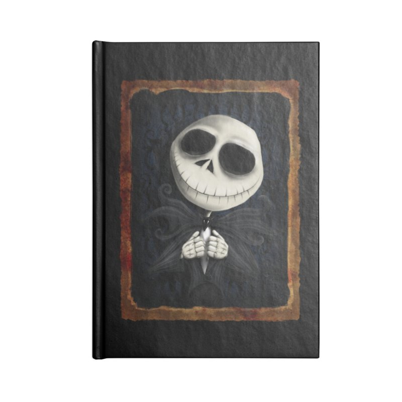 i am the pumpkin king! Accessories Lined Journal Notebook by the twisted world of godriguezart