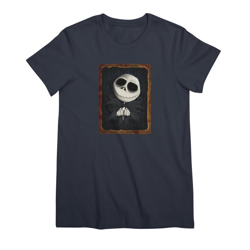 i am the pumpkin king! Women's Premium T-Shirt by the twisted world of godriguezart