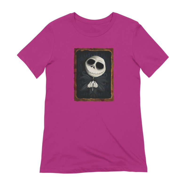 i am the pumpkin king! Women's Extra Soft T-Shirt by the twisted world of godriguezart