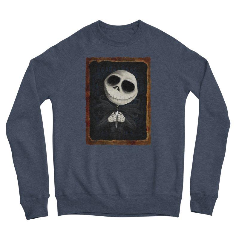 i am the pumpkin king! Women's Sponge Fleece Sweatshirt by the twisted world of godriguezart