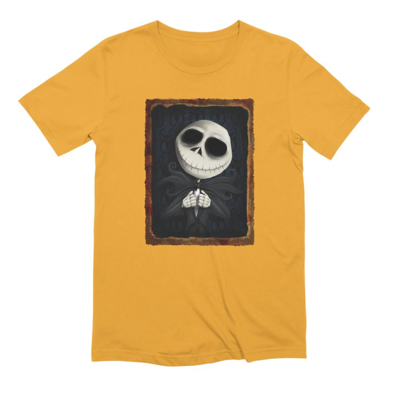 i am the pumpkin king! Men's Extra Soft T-Shirt by the twisted world of godriguezart